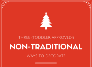 Austin Moms Blog   Three Toddler Approved Non-Traditional Ways to Decorate