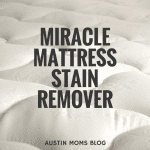 The MIRACLE Mattress Stain Remover