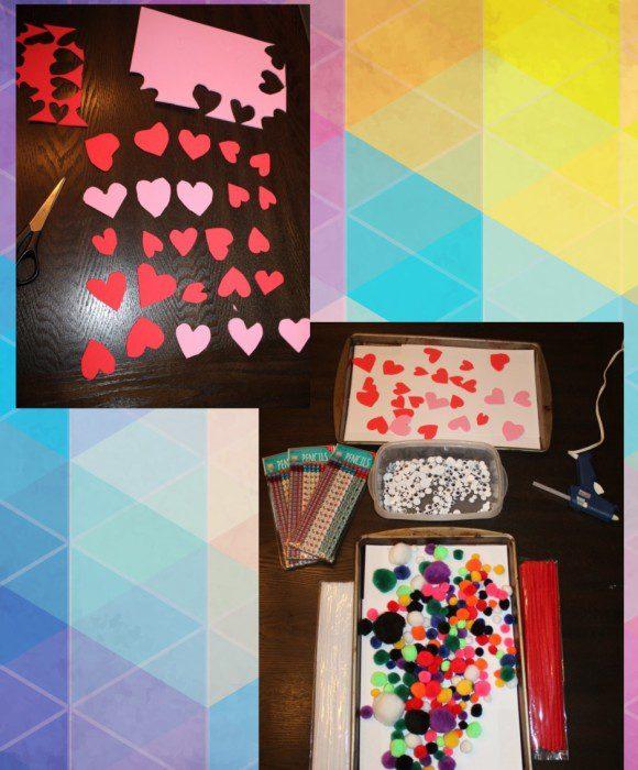 Austin Moms Blog-Malu-Valentine's Day Crafts-Luv Bugs