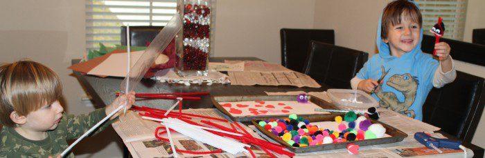 Austin Moms Blog-Malu-Valentine's Day Crafts-Luv Bugs Work