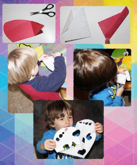 Austin Moms Blog-Malu-Valentine's Day Crafts-Papel Picado
