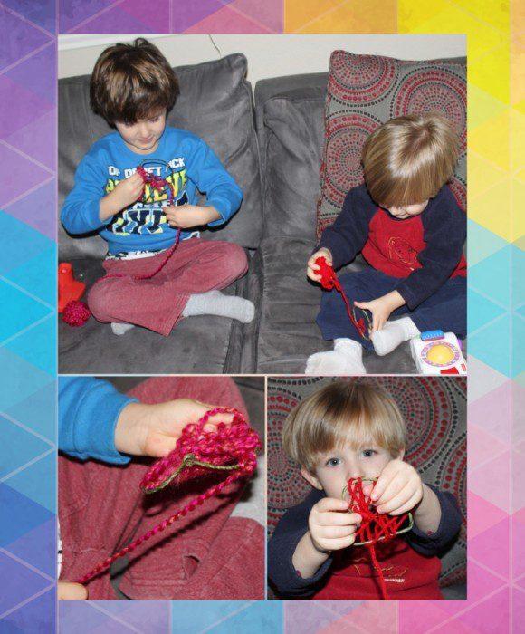 Austin Moms Blog-Malu-Valentine's Day Crafts-Yarn heart 2