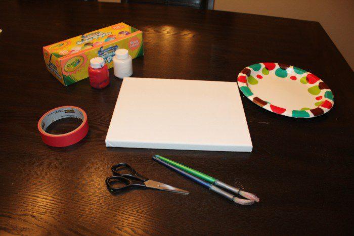 Austin Moms Blog-Malu-Valentine's Day Crafts-heart art supplies
