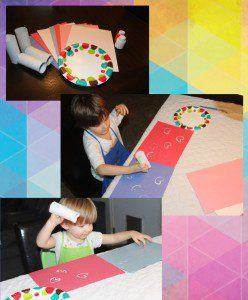 Austin Moms Blog-Malu-Valentine's Day Crafts-toilet paper hearts
