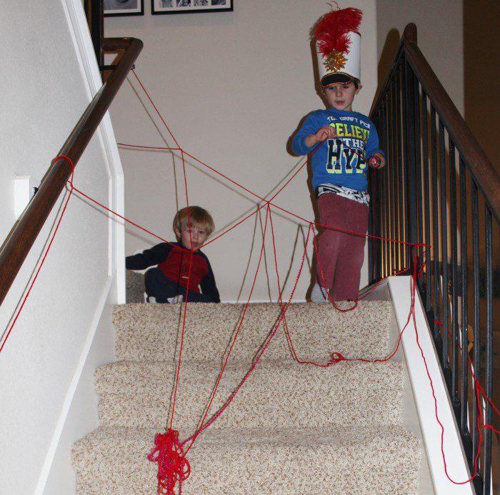 Austin Moms Blog-Malu-Valentine's Day Crafts-yarn mess