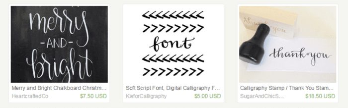See what I mean...gorgeous hand lettering