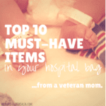 10 Must-Have Items in Your Hospital Bag