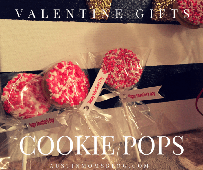 Austin Moms Blog | Valentine's Day Gifts: Cookie Pops