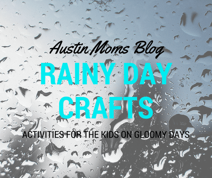 Austin Moms Blog | Rainy Day Crafts for the Kids