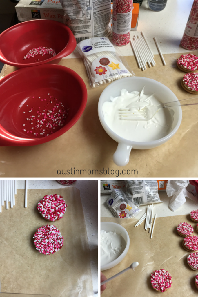 Austin Moms Blog | Valentine's Day Cookie Bouquet