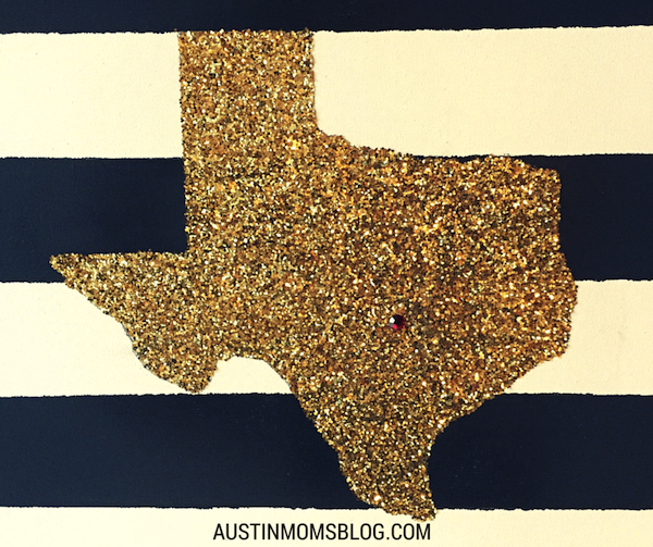 Austin Moms Blog | Add Some Glitter To Your Life {DIY}