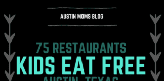 Austin Moms Blog | 75 Kids Eat Free Restaurants in Austin, Texas