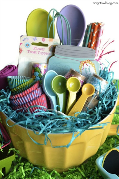 25 creative easter basket alternatives creative easter basket ideas photo credit a night owl blog negle Gallery