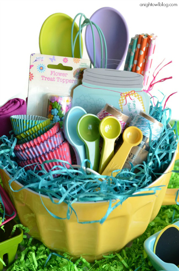 25 creative easter basket alternatives photo credit a night owl blog negle Choice Image