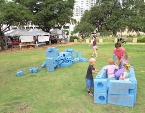 Imagination Playground at the Farmers Market