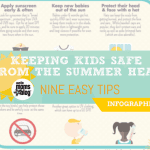 Keeping Kids Safe From Summer Heat {Infographic}