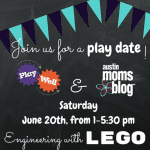 Austin Moms Blog Engineering LEGO Playdate with Play-Well TEKnologies