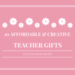 10 Affordable & Creative Teacher Gifts