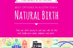 Austin Moms Blog | Natural Birth Reader's Choice