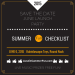 Austin Summer Fun Checklist