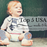 Top 5 USA Made & Hip Kid's Clothing Brands