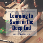 Father's Day :: Learning to Swim in the Deep End