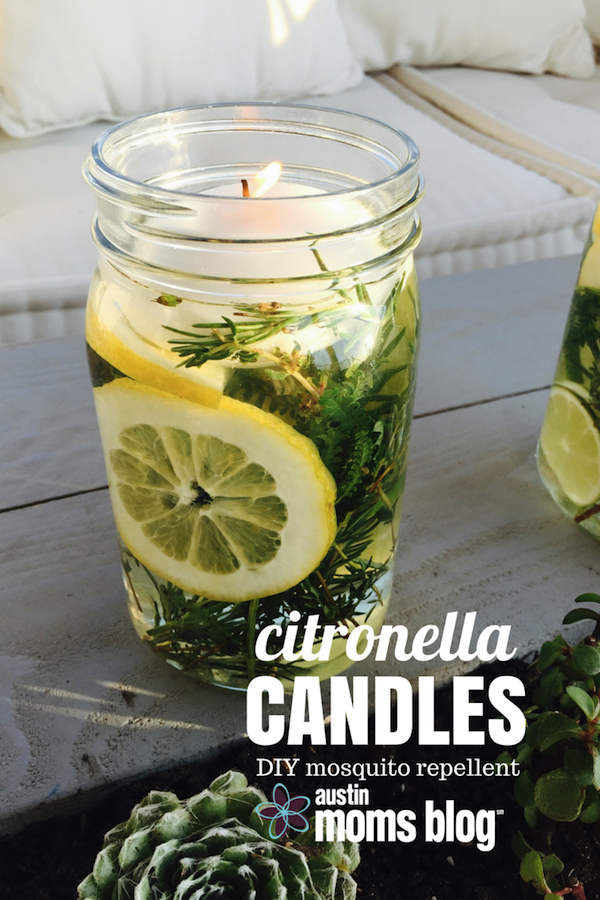 DIY Citronella Candle | Austin Moms Blog