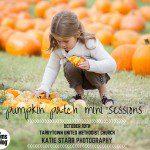 Pumpkin Patch Mini Sessions