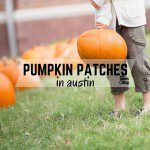 Pumpkin Patches in Central Texas