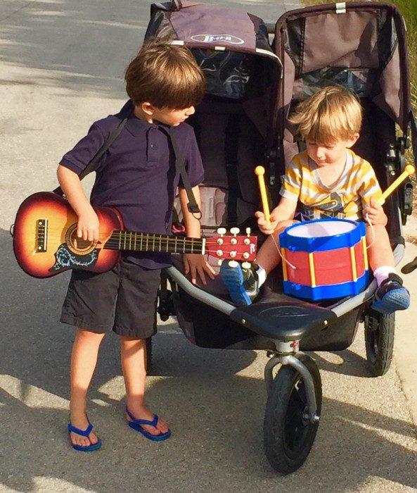 musical stroller