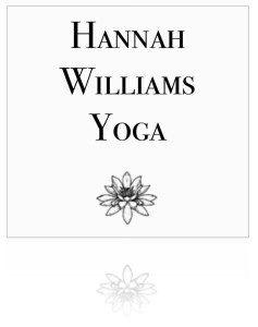 hannah williams yoga