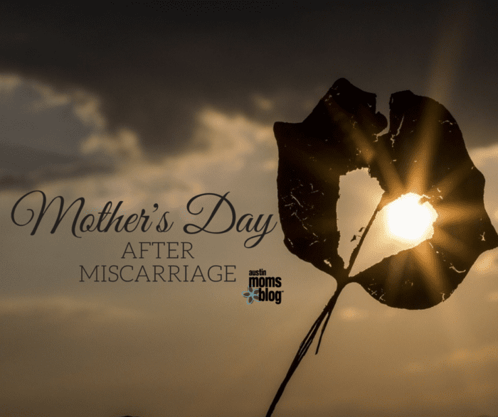 Mother's Day After Miscarriage