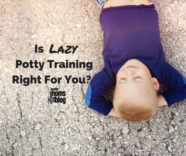 Lazy Potty Training