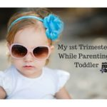 My 1st Trimester…While Parenting a Toddler