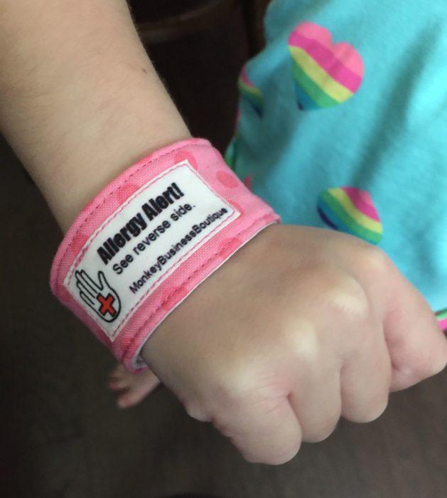 Allergy Bracelet 2