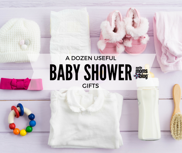 a dozen useful baby shower gifts, Baby shower