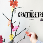 DIY: Gratitude Tree Thanksgiving Craft for Kids