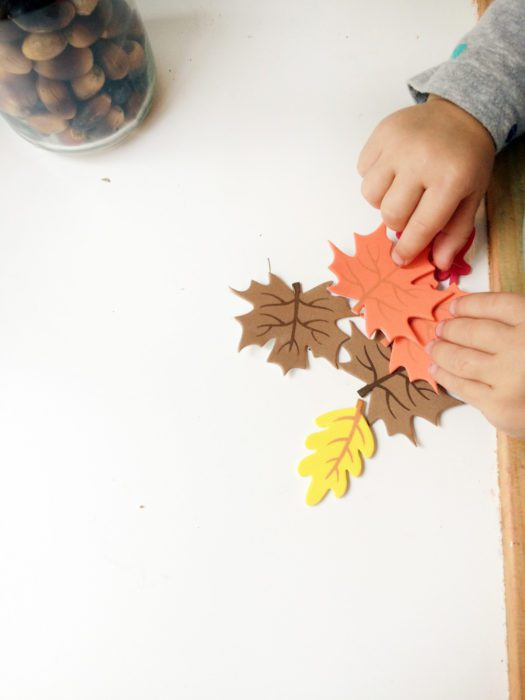 little leaves thanksgiving craft