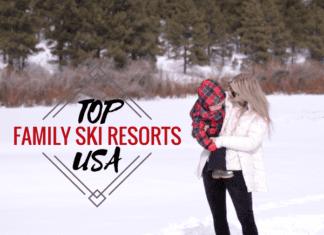 Family Friendly Ski Resorts in the US | Austin Moms Blog | Erin Ruoff