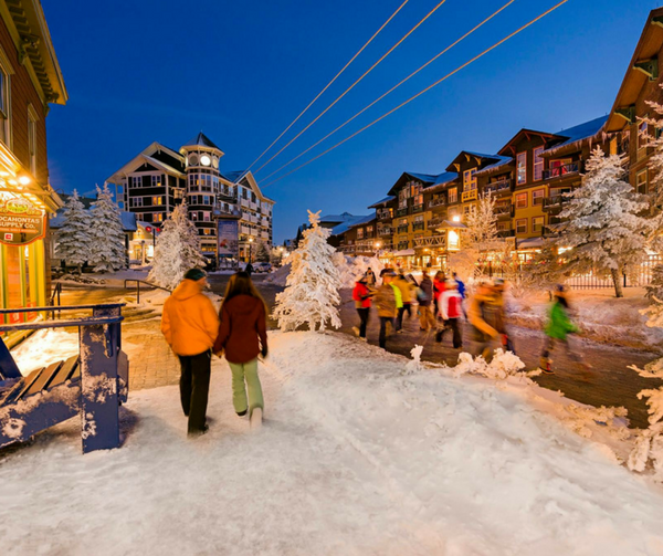 Family Friendly Ski Resorts in the US | Austin Moms Blog | Erin Ruoff | Snowshoe