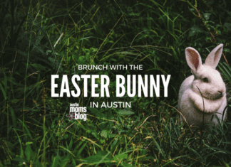 brunch with the easter bunny in austin