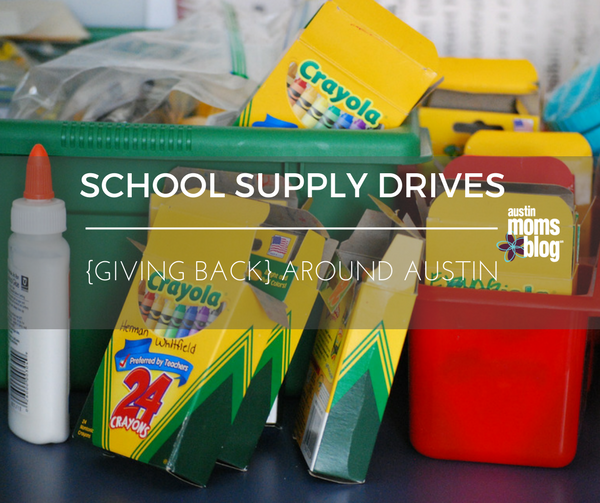 school supply drives