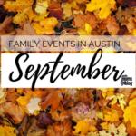 September Family Events Calendar