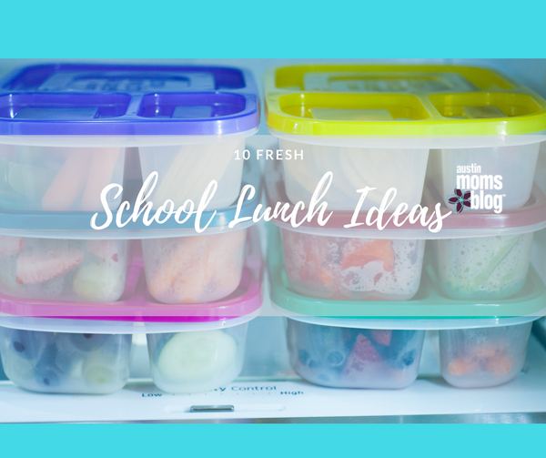 10 Fresh School Lunch Ideas