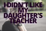 child's teacher