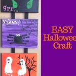 My Favorite Quick DIY Halloween Craft