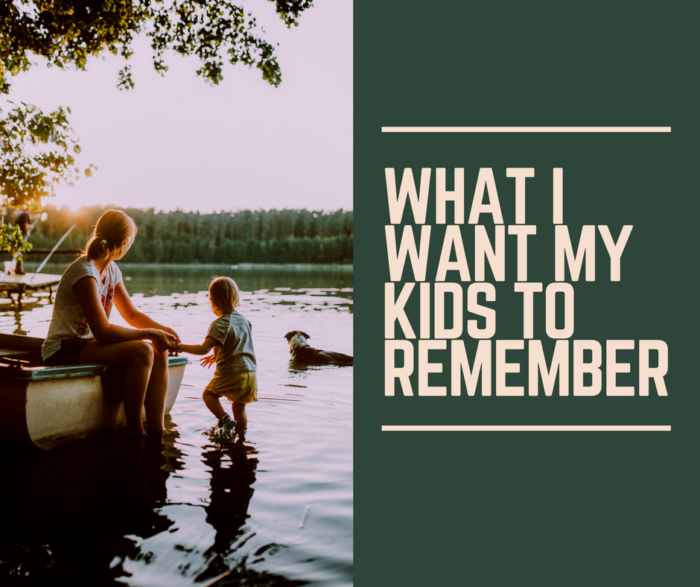 kids to remember