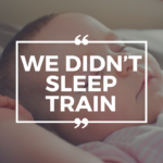 We Didn't Sleep Train