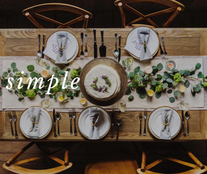 simple christmas menu - Simple Christmas Menu