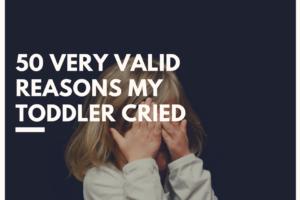toddler cried